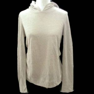 Tommy Bahama Tan Natural Linen Hoodie Women's XS